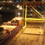 Усть-Лужский контейнерный терминал: с почином