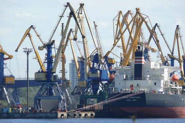 Грузооборот порта Рига, грузовые международные перевозки