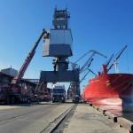 Калининградский порт за 9 месяцев увеличил грузовые международные перевозки.