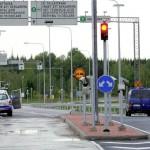 Трафик на границе с Финляндией продолжает падать